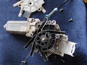 REGULATOR-REAR DOOR ELECTRIC GLASS
